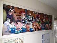 Toy Story poster in a frame