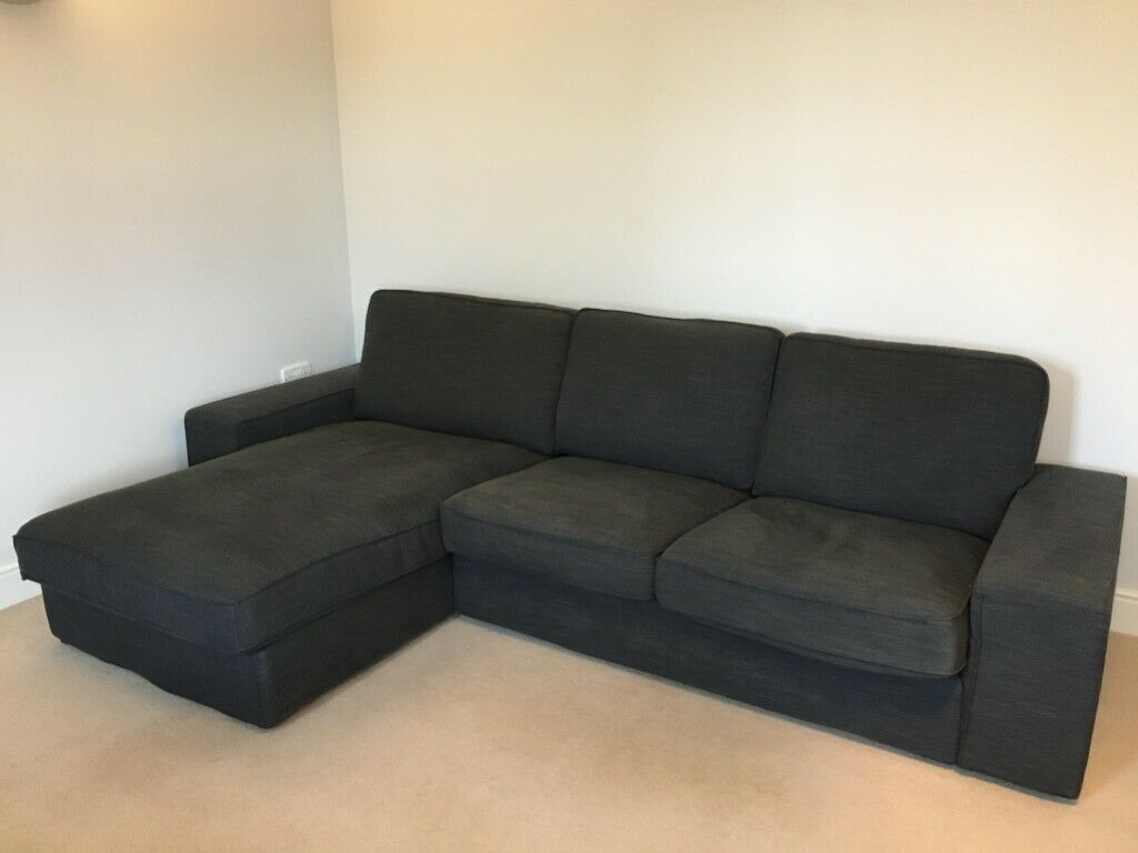 Ikea Kivik 4 Seat Sofa With Chaise Long Used 1 5 Year Excellent Condition In Maidenhead Berkshire Gumtree