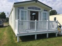 2013 Pemberton Serena static caravan on Church Farm Holiday Park, Pagham, West Sussex