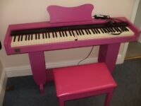 Piano Nova Pink Digital Piano