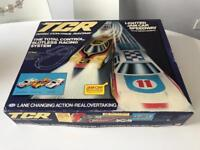 Vintage TCR Scalextric Lighted Jam Car Speedway Set 1970s sealed