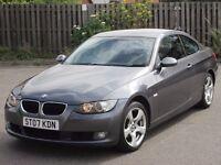 2007 (07 reg), Coupe BMW 3 Series 2.0 320i SE 2dr