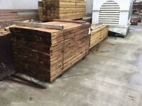 Large quantities of new railway sleepers £19 each