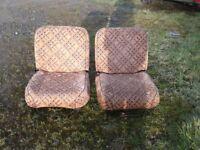 swivel seats camper bed