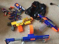 Nerf Collection - Rapid fire, Raider, Recon CS6 etc