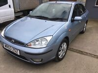 2003 Ford Focus 1.8tdci Ghia very low miles
