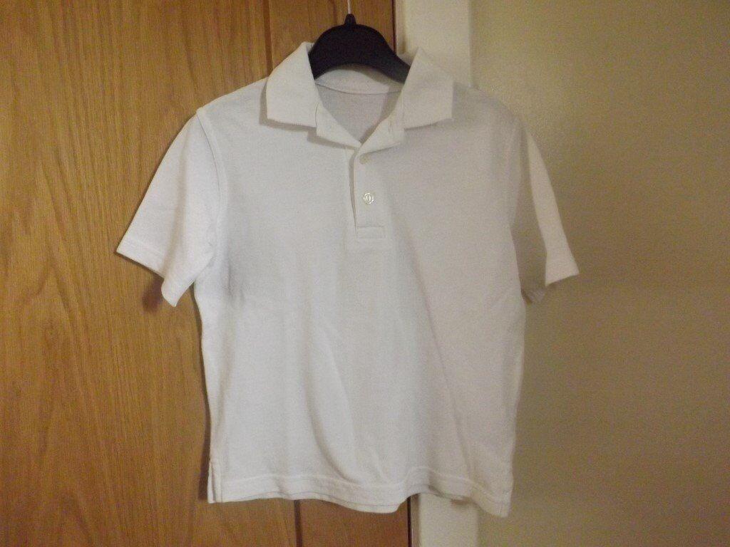 2 Boys Polo Shirts Age 3-4
