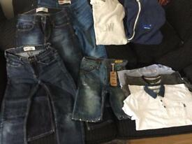 12 y boy bundle levis jw etc