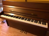 Knight K10 upright piano. Excellent condition. 1980