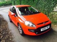 2010 Fiat Punto 1.4 Evo Gp Red Metallic 36,000 Miles