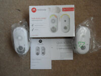 Baby Monitor - Motorola MBP8 - Virtually New