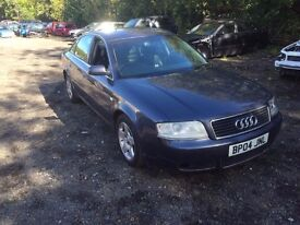 AUDI A6 2.5 TDI 2004 BREAKING FOR PARTS