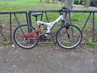 21 Speed RHINO Suspension Mountain Bike. Excellent Condition. Fully Serviced & Guaranteed.