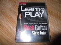 Learn 2 Play - Rock Style Guitar Tutor PC CD Rom
