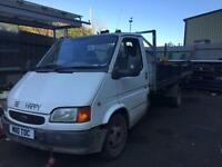 Ford transit mk5 breaking & 13ft body for sale