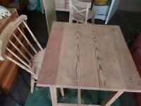 Table & Chair L26 D26 H29 Inches