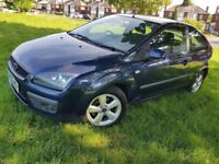 FOCUS AUTOMATIC WARRANTED LOW MILEAGE OF ONLY 77K, FULL VOSA HISTORY,LONG MOT,ENGINE GEARBOX SMOOTH