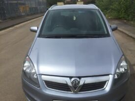 VAUXHALL ZAFIRA 2007 5DR PETROL FULL YEAR MOT EXCELLENT CONDITION