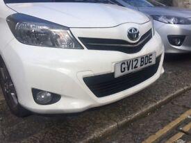 Toyota Yaris SR VVT-i. 5 door hatchback. Petrol. CO2 127g/km. Rear parking camera