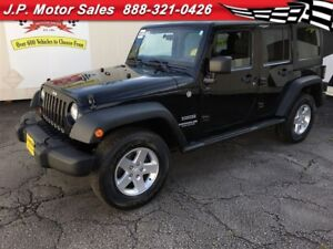 2012 Jeep WRANGLER UNLIMITED Sport, Automatic, A/C, Hard Top, 4x