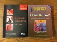 Law Books - Criminal Litigation and Law