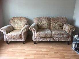 Sofa Set - 2seat and 1seat