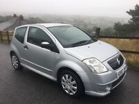 Citroen C2 Furio Petrol Silver 3 Door 2007 Long MOT Excellent Value Reduced from £1795