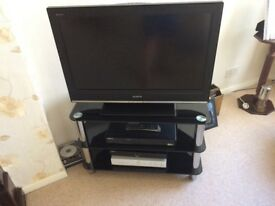 Tv with Humax freeview recorder and dvd player