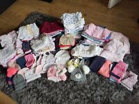 Large girls bundle 0-3 over 200 items
