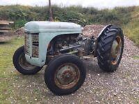 Ferguson TVO Classic Tractor - Spares or Repair