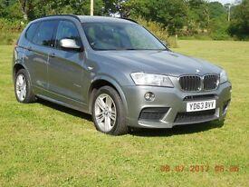 BMW X3 2.0TD AUTO X DRIVE 20d M SPORT