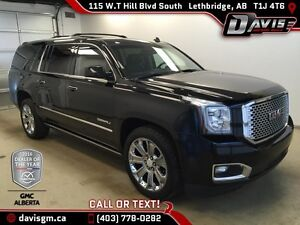 Used 2015 GMC Yukon XL 4WD Denali-NAVIGATION,SUNROOF