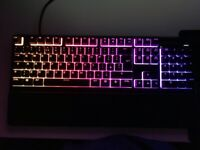 Apex 3 Mint Condition RGB Gaming Keyboard
