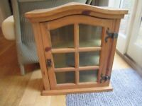 wall cupboard . display superb condition