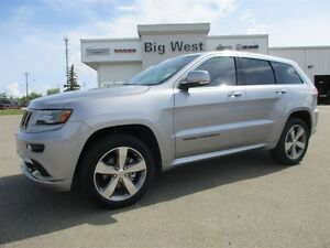 2015 Jeep Grand Cherokee Overland high altitude edition / loaded