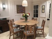 Oak Kitchen Table and Chairs - REDUCED