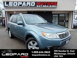 2010 Subaru Forester 2.5,Awd,Sunroof,Heated seat*No Accident*