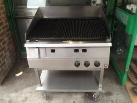 CATERING COMMERCIAL BBQ KEBAB PERI PERI CHICKEN STEAK BEEF LAMB BURGER FLAME CHAR GRILL + (MORE )