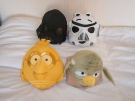 STAR WARS ANGRY BIRDS SOFT TOYS