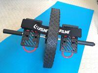 Lifeline Power Wheel Ab Treiner-black