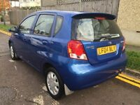 2004 DAEWOO KALOS 1,3 PETROL ,AUTOMATIC ,, ONLY DONE 57,000MILES