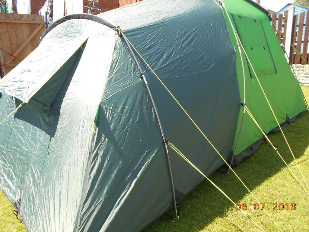 LICHFIELD CREEK LARGE 4 MAN TENT VERY GOOD CLEAN CONDITION | in Barnsley, South Yorkshire | Gumtree
