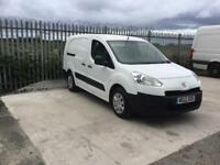 2012/12 PEUGEOT PARTNER SE L2 716 CREW VAN 5 SEATER GOOD MILEAGE FULL M.O.T HPI CLEAR NO VAT....