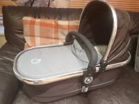 Icandy carrycot & pushchair