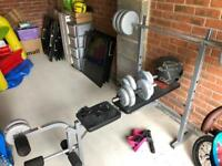 York Pro Power Bench & Weights