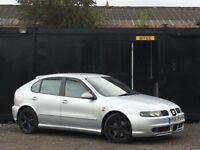 ★ 2005 SEAT LEON 1.8T FR + 180 BHP + ALLOYS + RARE CAR ★