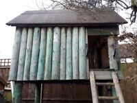 Tree House, Wendy House, Play Den,