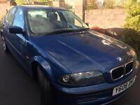 Bmw 318ise blue long mot £1075