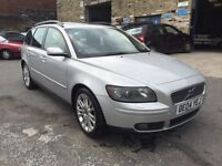 Volvo V50 2.4 i SE Geartronic 5dr LEATHER/12 MONTH MOT/AUTOMATIC 2004 (04 reg), Estate