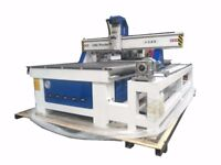 1300X2500 CNC Router 240v 4.5 kw spindle with Vac pumps